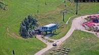 Archived image Webcam Seven Springs Mountain Resort: Base Station Polar Bear Express 08:00