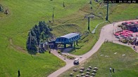 Archived image Webcam Seven Springs Mountain Resort: Base Station Polar Bear Express 10:00