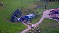 Archived image Webcam Seven Springs Mountain Resort: Base Station Polar Bear Express 12:00