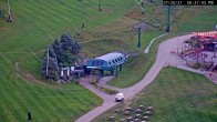 Archived image Webcam Seven Springs Mountain Resort: Base Station Polar Bear Express 14:00