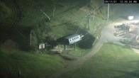 Archived image Webcam Seven Springs Mountain Resort: Base Station Polar Bear Express 18:00
