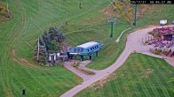 Archived image Webcam Seven Springs Mountain Resort: Base Station Polar Bear Express 02:00