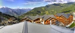 4 Vallées: Blick über La Tzoumaz