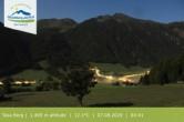 Archiv Foto Webcam Gitschberg Jochtal: Blick auf die Mittelstation Schilling 22:00