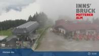 Archiv Foto Webcam Live-Cam Mutterer Alm Bergstation 09:00