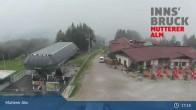 Archiv Foto Webcam Live-Cam Mutterer Alm Bergstation 11:00