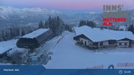 Archiv Foto Webcam Live-Cam Mutterer Alm Bergstation 08:00