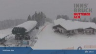 Archiv Foto Webcam Live-Cam Mutterer Alm Bergstation 16:00