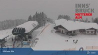 Archiv Foto Webcam Live-Cam Mutterer Alm Bergstation 18:00