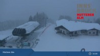 Archiv Foto Webcam Live-Cam Mutterer Alm Bergstation 02:00