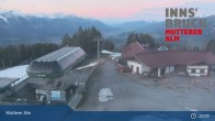 Archiv Foto Webcam Live-Cam Mutterer Alm Bergstation 19:00