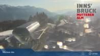 Archiv Foto Webcam Live-Cam Mutterer Alm Bergstation 01:00