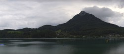 Archived image Webcam Panorama of Lake Fuschl 00:00
