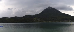 Archived image Webcam Panorama of Lake Fuschl 02:00