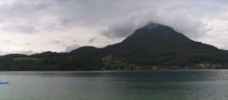 Archived image Webcam Panorama of Lake Fuschl 04:00