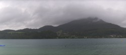 Archived image Webcam Panorama of Lake Fuschl 10:00