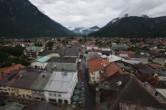 Archiv Foto Webcam Alpenwelt Karwendel - Mittenwald Kirche 06:00