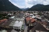 Archiv Foto Webcam Alpenwelt Karwendel - Mittenwald Kirche 08:00