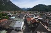 Archiv Foto Webcam Alpenwelt Karwendel - Mittenwald Kirche 10:00