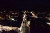 Archiv Foto Webcam Alpenwelt Karwendel - Mittenwald Kirche 21:00