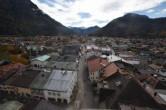 Archiv Foto Webcam Alpenwelt Karwendel - Mittenwald Kirche 07:00