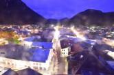 Archiv Foto Webcam Alpenwelt Karwendel - Mittenwald Kirche 03:00