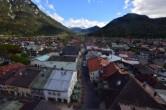 Archiv Foto Webcam Alpenwelt Karwendel - Mittenwald Kirche 15:00
