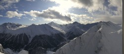 Archived image Webcam Samnaun - Alp Trida Sattel Lift 06:00