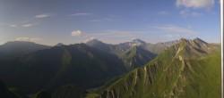 Archiv Foto Webcam Samnaun - Alp Trida Sattel 02:00
