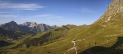 Archiv Foto Webcam Warth-Schröcken (Ski Arlberg) - Widdersteinhütte 02:00