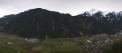 Archiv Foto Webcam Mayrhofen im Zillertal - Gasthof Zimmereben 04:00