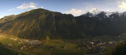 Archiv Foto Webcam Mayrhofen im Zillertal - Gasthof Zimmereben 08:00
