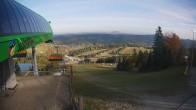 Archiv Foto Webcam Slotwiny Arena - Bergstation Sessellift 09:00
