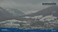 Archived image Webcam Ruhpolding: Panoramic View 01:00