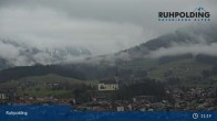 Archiv Foto Webcam Ruhpolding: Panoramablick auf den Ort 05:00