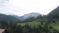 Archiv Foto Webcam Oberstaufen: Biohotel Schratt - Blick zum Hochgrat 07:00