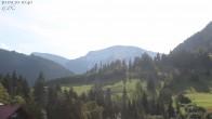 Archiv Foto Webcam Oberstaufen: Biohotel Schratt - Blick zum Hochgrat 09:00