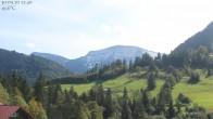 Archiv Foto Webcam Oberstaufen: Biohotel Schratt - Blick zum Hochgrat 11:00