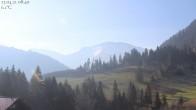 Archiv Foto Webcam Oberstaufen: Biohotel Schratt - Blick zum Hochgrat 02:00