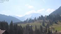 Archiv Foto Webcam Oberstaufen: Biohotel Schratt - Blick zum Hochgrat 04:00