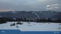 Archiv Foto Webcam Spindlermühle: Bergstation Sessellift Svaty Petr 11:00