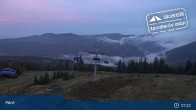 Archiv Foto Webcam Spindlermühle: Bergstation Sessellift Svaty Petr 06:00