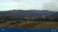 Archiv Foto Webcam Spindlermühle: Bergstation Sessellift Svaty Petr 08:00