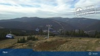 Archiv Foto Webcam Spindlermühle: Bergstation Sessellift Svaty Petr 14:00