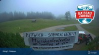 Archiv Foto Webcam Gaissau-Hintersee: Spielbergalm 01:00