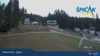 Archiv Foto Webcam Spicak - Talstation Sessellift 01:00
