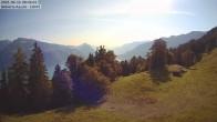 Archived image Webcam Aeschi - Ski hut Aeschiallmend 02:00