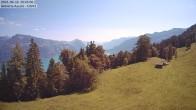 Archived image Webcam Aeschi - Ski hut Aeschiallmend 04:00