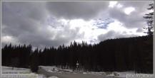 Archiv Foto Webcam Pokljuka: Biathlonstadion Eingang 04:00