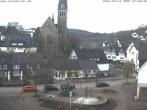Archiv Foto Webcam Lennestadt: Thomas-Morus-Platz und Kirche in Altenhundem 02:00